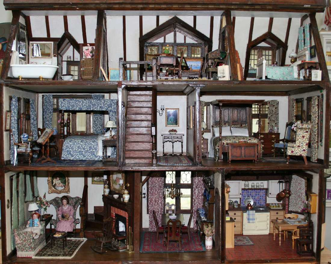 ... Shaped My Lifelong Passion For Artisan Miniatures And I Really Do Feel  Blessed And Honored To Have This Memorable House In My Own Collection Today.