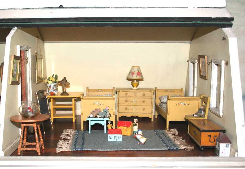When I First Received This House, This Room Was Furnished With Bright  Yellow Painted German Furniture. It Was A Very Darling Set But I Preferred  To Use ...